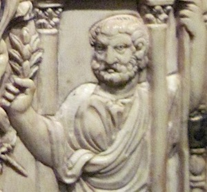 ivory diptych, possibly of Symmachus himself (By QuartierLatin1968 (Own work) [CC BY-SA 3.0 (https://creativecommons.org/licenses/by-sa/3.0)], via Wikimedia Commons)